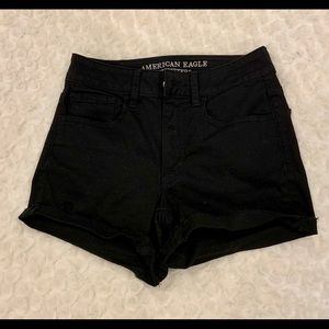 American Eagle Outfitters shorty black shorts Sz 2
